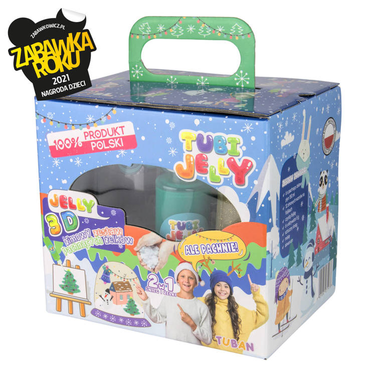TUBI JELLY SET WITH 6 COLORS AND SMALL AQUARIUM - WINTER
